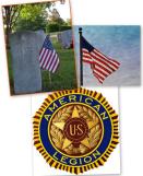 Legion flag collage