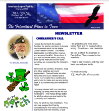 Post 6 newsletter